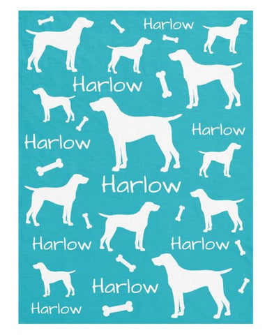 Lots of Breeds - Personalized Dog Blanket - The Smoothe Store