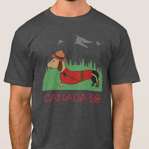 Limited Edition - Canadian Dachshund Shirts, The Smoothe Store