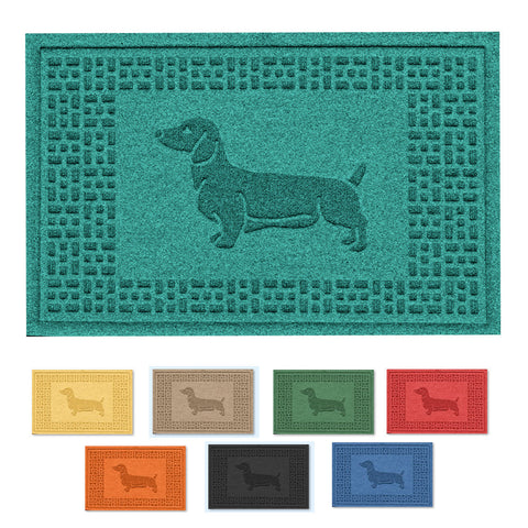 Durable Wiener Dog Doormat