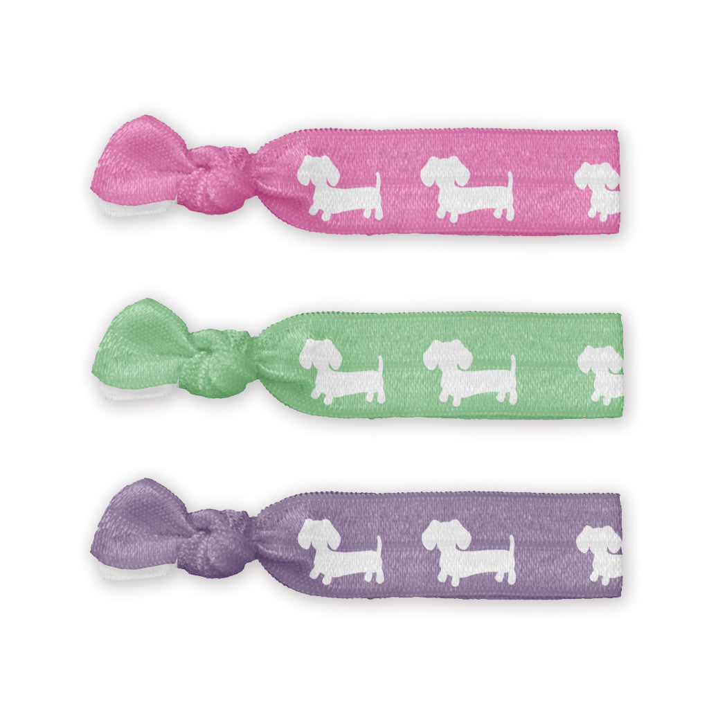 Dachshund Hair Ties - The Smoothe Store