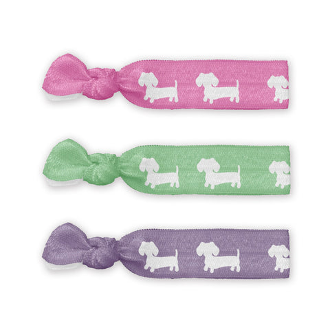 Dachshund Hair Ties