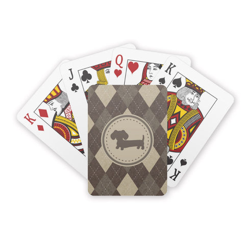 Deck of Dachshund Playing Cards, The Smoothe Store