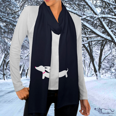 Dachshund Jersey Scarf, The Smoothe Store