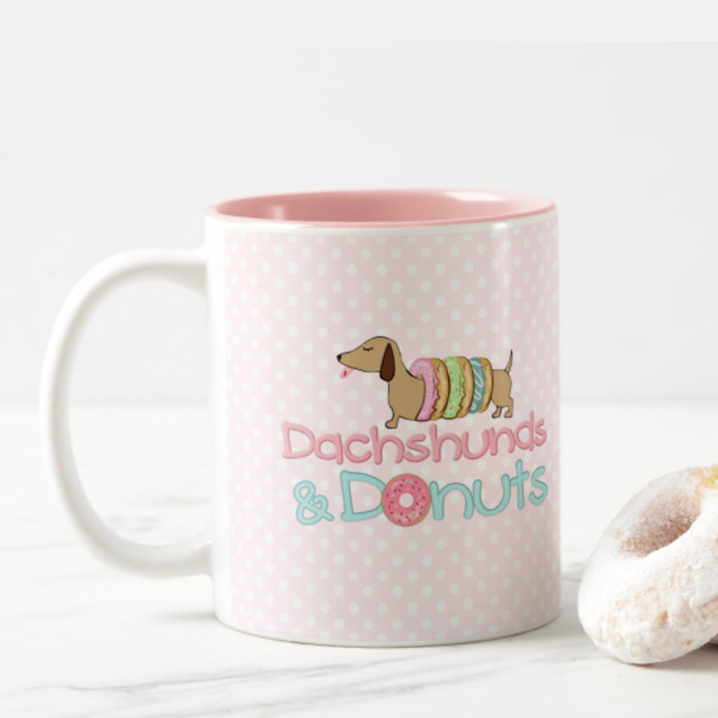 Dachshund & Donuts Mug, The Smoothe Store