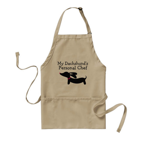 My Dachshund's Personal Chef Apron