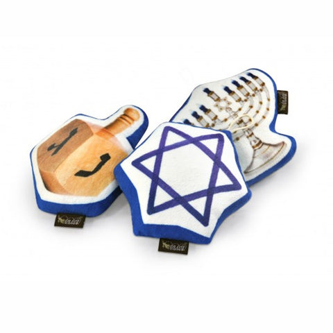 Hanukkah Dog Toy Set