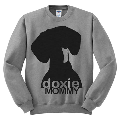 Doxie Mommy Sweatshirt for Wiener Dog Moms