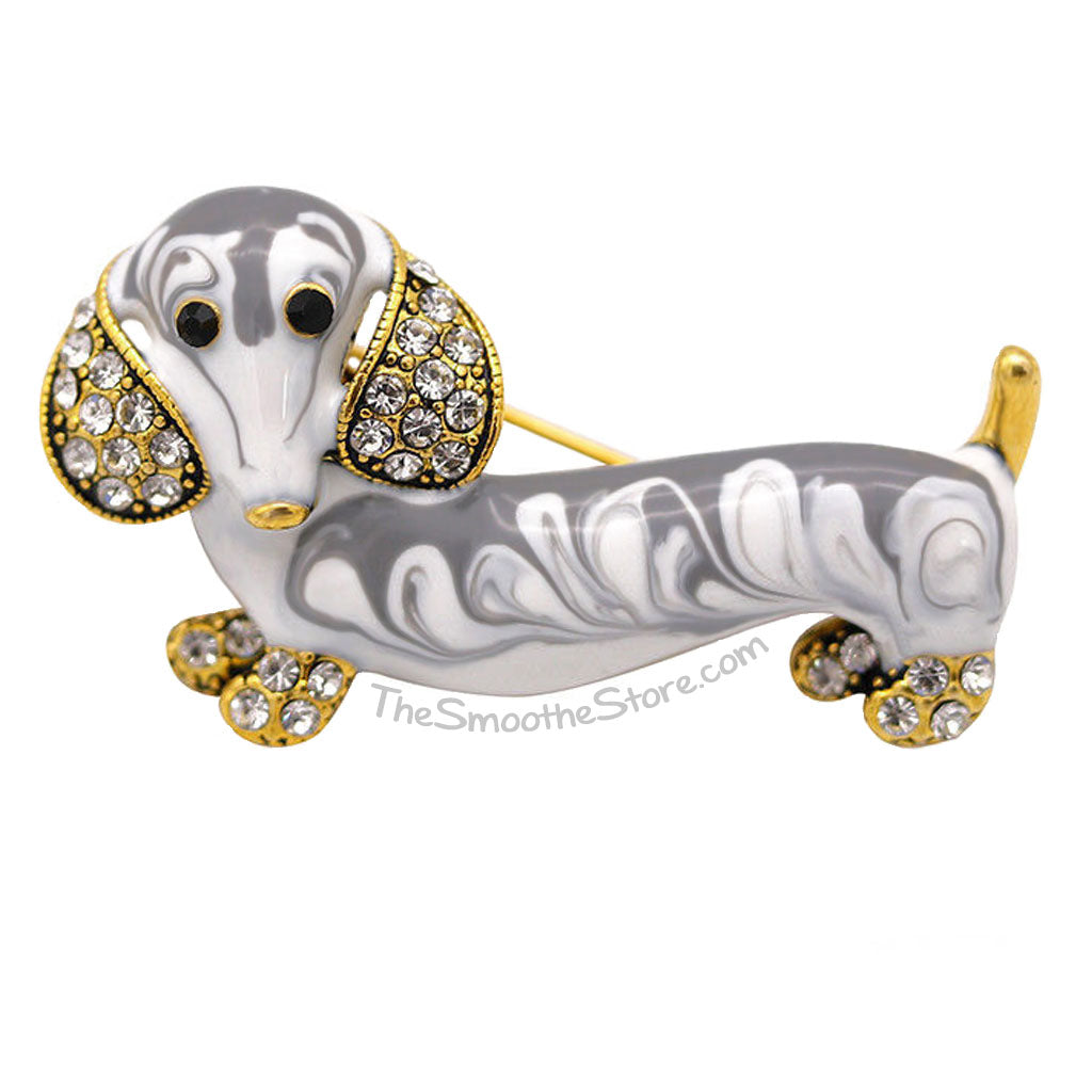Dachshund Brooch, The Smoothe Store