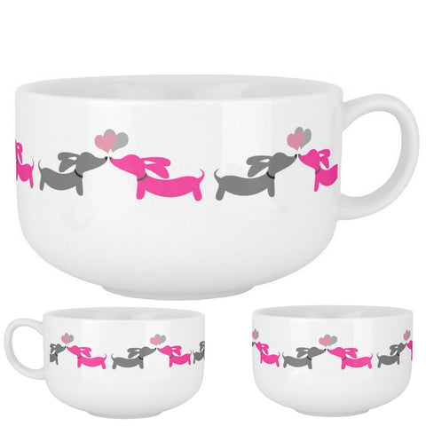 Dachshund Soup Bowls, The Smoothe Store