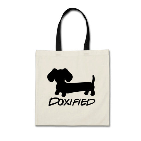 Doxified Wiener Dog Tote Bag - The Smoothe Store
