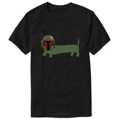 dachshund star wars shirt boba fetch