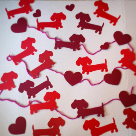 Dachshund Garland, Banners and Bunting