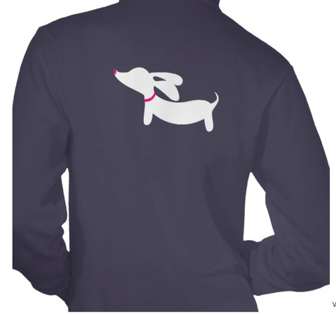 Dachshund Unisex Hoodie Full Zip Jacket, The Smoothe Store