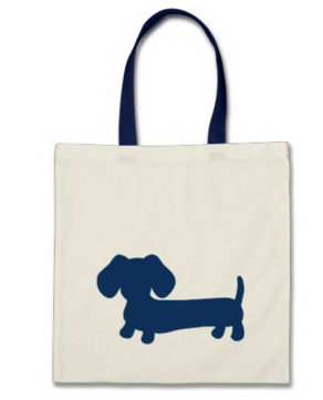 Small Doxie Tote Bags - The Smoothe Store