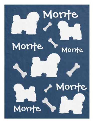 Lots of Breeds - Personalized Dog Blanket, The Smoothe Store
