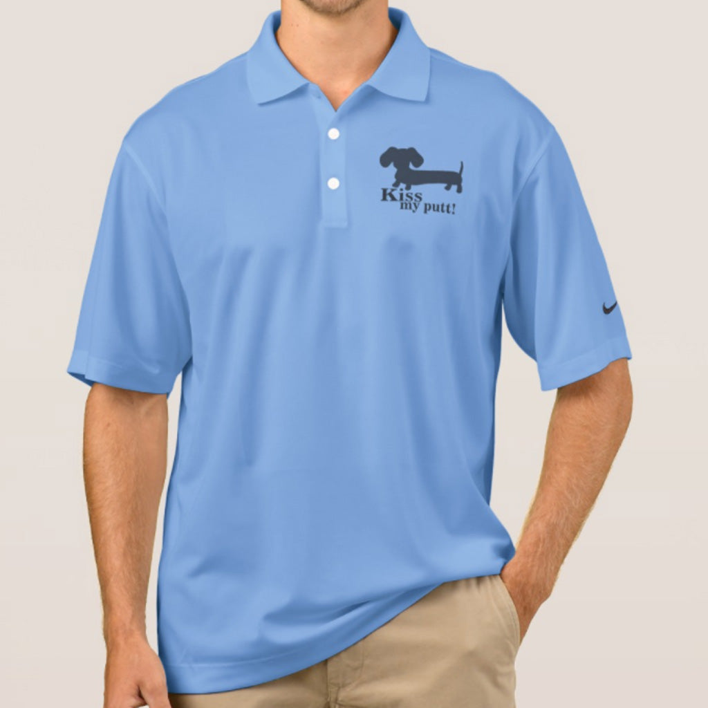 Nike Dri-FIT Dachshund Golf Shirt, The Smoothe Store