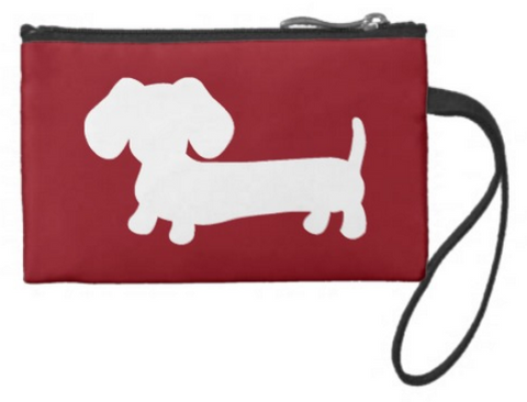 Dachshund Travel and Small Accessory Pouch Bags - The Smoothe Store - 5