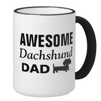 Awesome Dachshund Dad Mug, The Smoothe Store