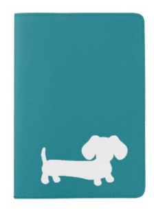 Dachshund Passport Holder in Pink, Teal, Navy or Red, The Smoothe Store
