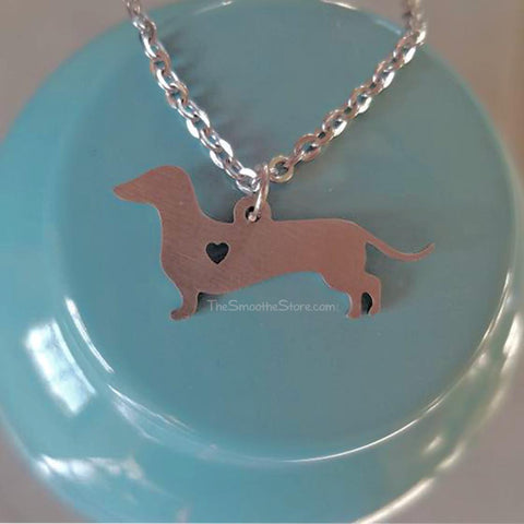 Teenie Weenie Dachshund Necklace