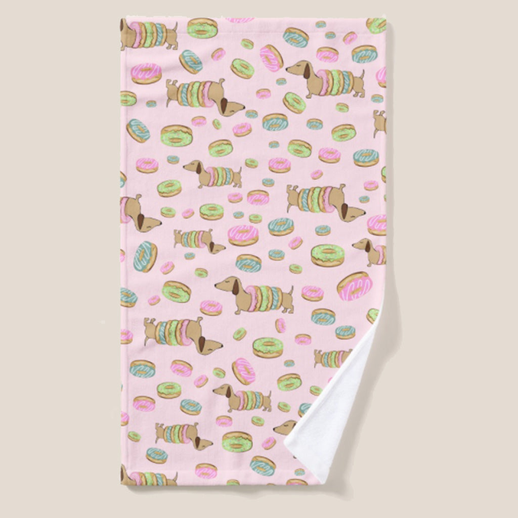 Doxies and Donuts Dish Towel, The Smoothe Store