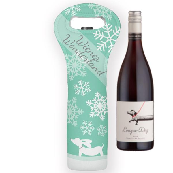 Wiener Dog Christmas Wine Gift Bag, The Smoothe Store
