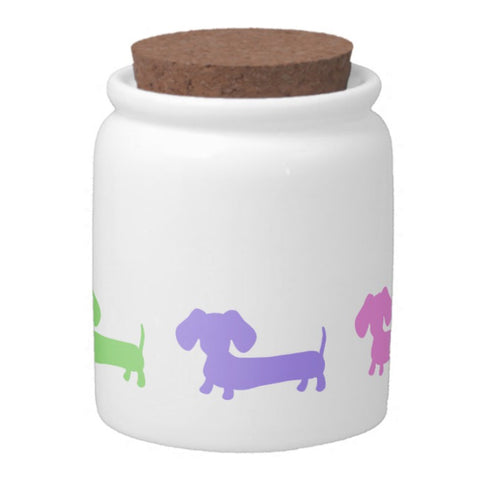 Wiener Dog Dachshund Treat Jar, The Smoothe Store