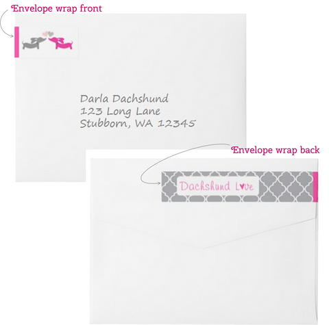 Puppy Love Envelope Wraps, The Smoothe Store