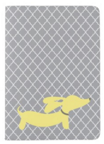 Pink or Yellow Dachshund Passport Cover - The Smoothe Store