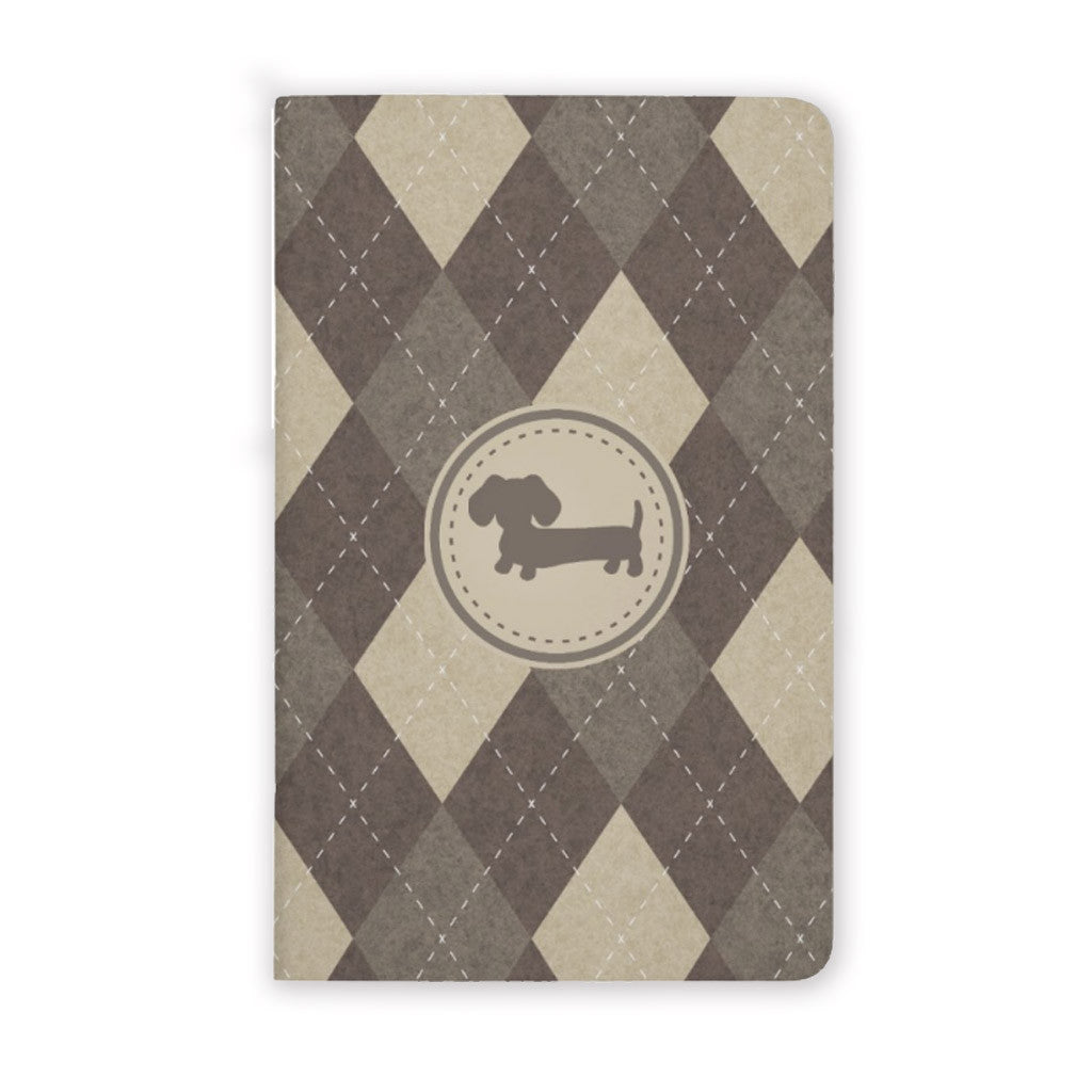 Men's Mini Wiener Dog Pocket Notebooks, The Smoothe Store