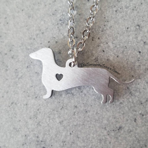 Teenie Weenie Dachshund Necklace, The Smoothe Store