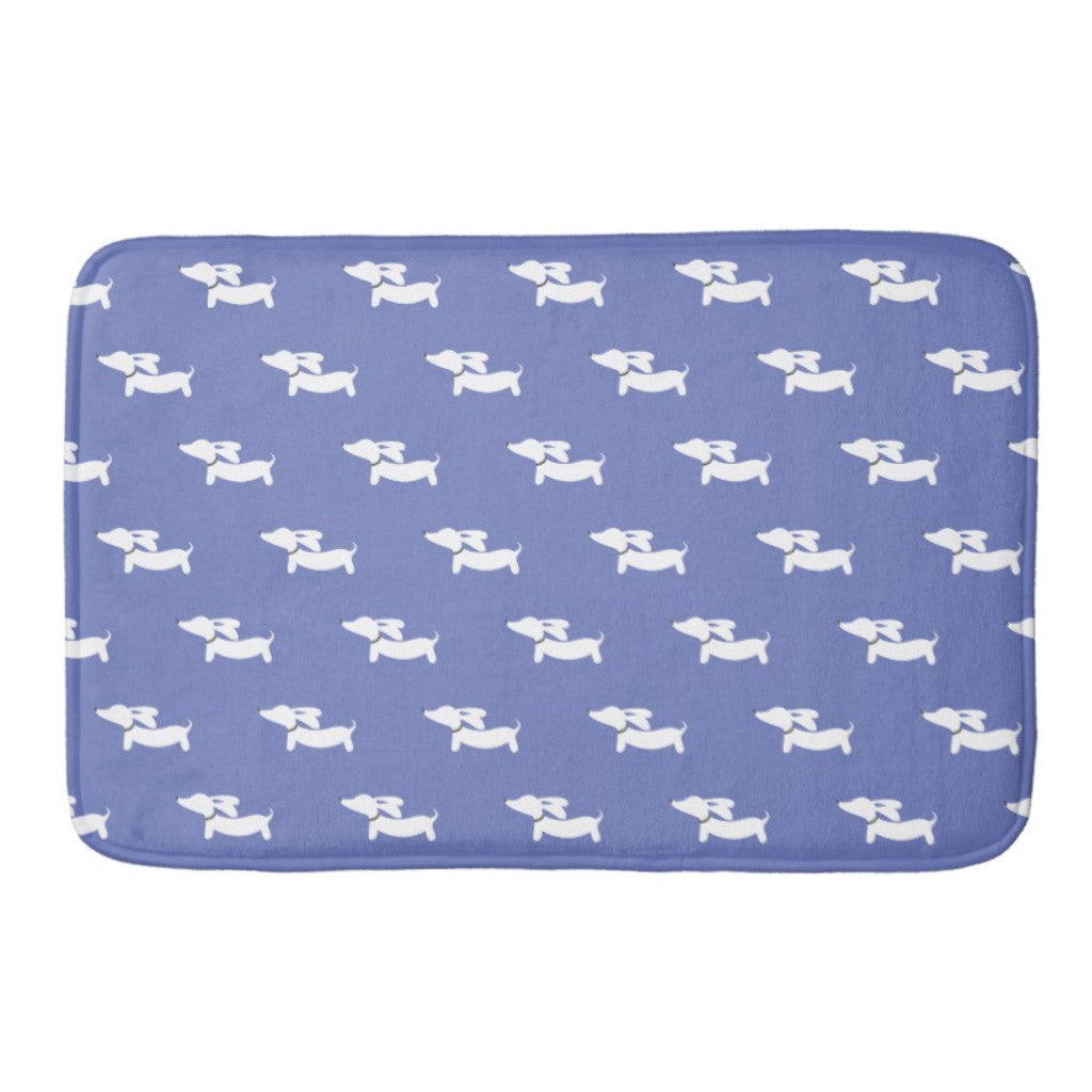 Dachshund Bath Mat, The Smoothe Store