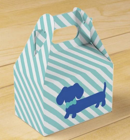 Wiener Dog Party Gift Boxes