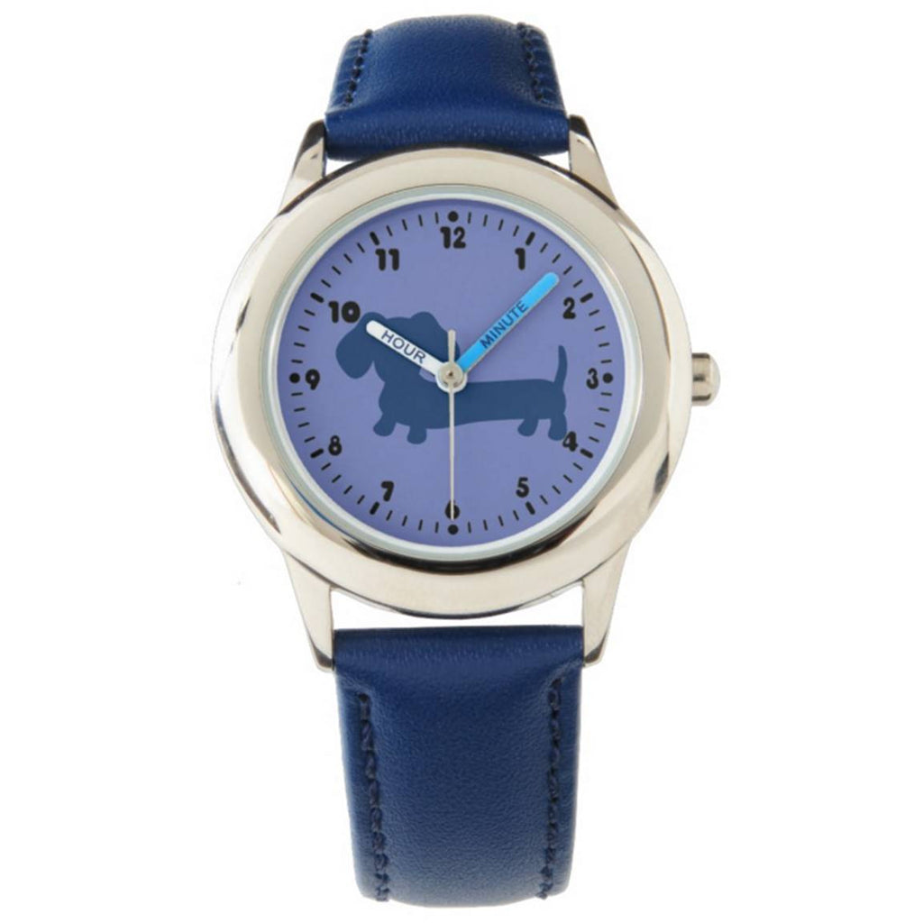 Kids Blue Dachshund Watch - The Smoothe Store