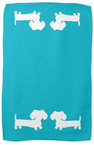 Dachshund Kitchen Dish Towels, The Smoothe Store