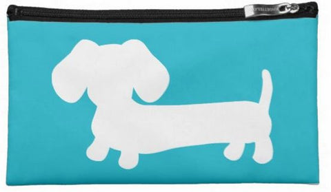 Dachshund Travel and Small Accessory Pouch Bags - The Smoothe Store - 1