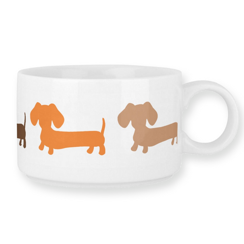 Dachshund Chili Soup Bowl