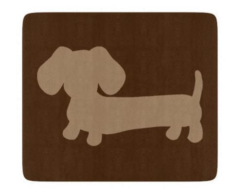 Brown Dachshund Kitchen Cutting Board - The Smoothe Store - 2