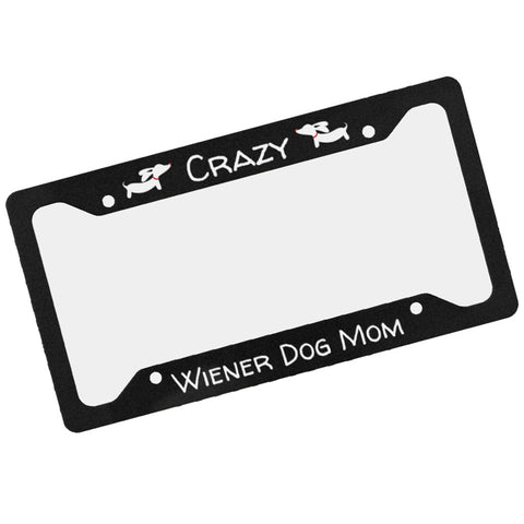 Dachshund Mom License Plate Frame
