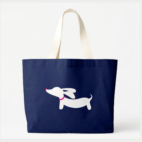 Jumbo Wiener Dog Tote Bag