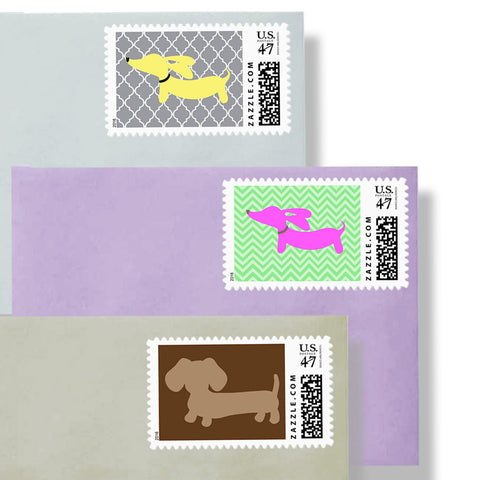 Dachshund Postage Stamps, The Smoothe Store
