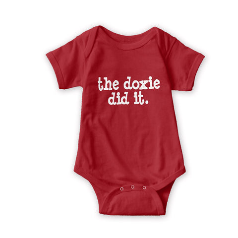 The Doxie Did It | One Piece Baby Onesie - The Smoothe Store - 4