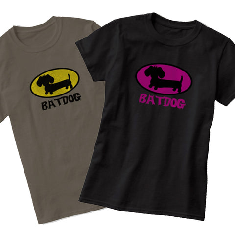 Batdog Dachshund Shirt | Wiener Dog Super Hero