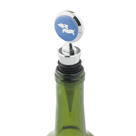 Wiener Dog Wine Bottle Stopper - The Smoothe Store - 3