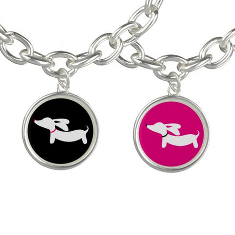 Dachshund Charm Bracelet - The Smoothe Store - 1
