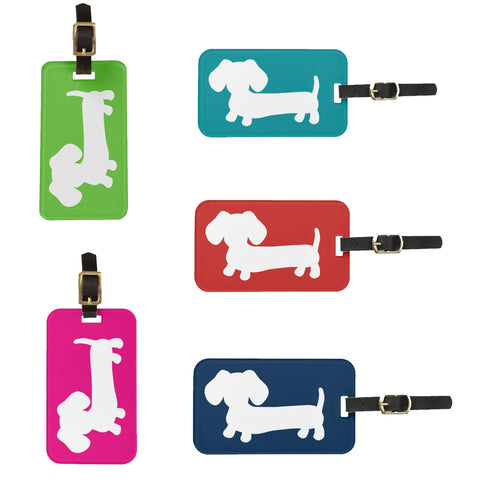Dachshund Luggage Tags | Lots of Colors