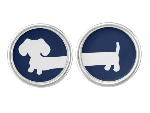 Dachshund Cufflinks, The Smoothe Store