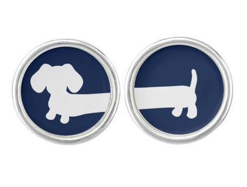 Dachshund Cuff Links, The Smoothe Store