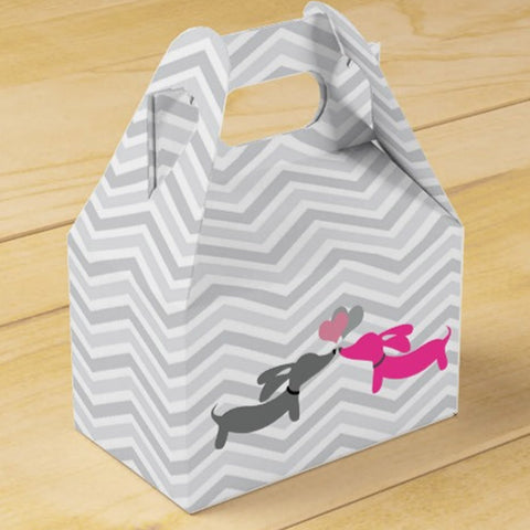 Kissing Dachshund Gift Boxes