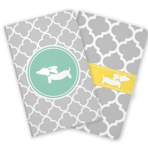 Mini Wiener Dog Pocket Note Books, The Smoothe Store
